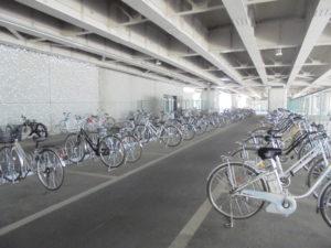 自転車駐車場 場内
